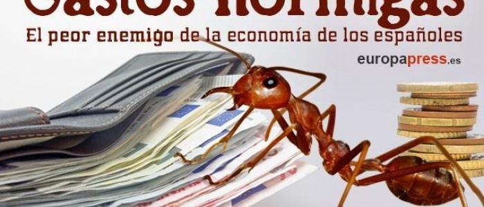 Gasto hormiga: el peor enemigo de la economía de los españoles